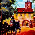 Leserunde, Oberes Tor in Karlstadt